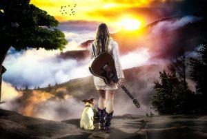 reizen met gitaar